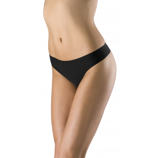 Dames string Ten Cate seamless zwart