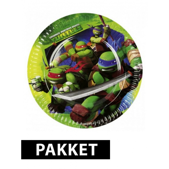 Ninja Turtles kinderfeest pakket