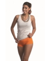 Lemon and soda oranje dames boxershorts