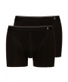 Tc tender cotton zwarte shorty 2 pak