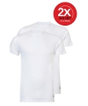 Ten cate witte heren t shirts 2 pak